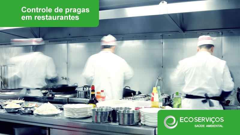 Controle de pragas em restaurantes